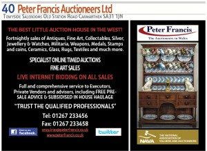 Peter Francis Advert