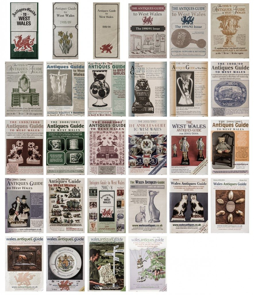 Wales Antiques Guide Cover Collection
