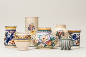Collection of Early Poole Pottery