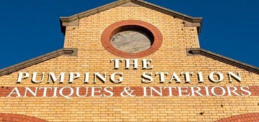 The Pumping Station Signage