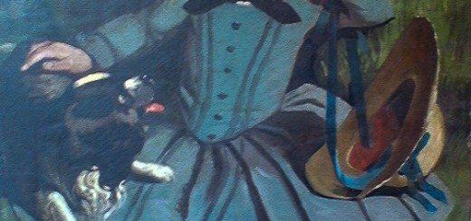 Art Restoration Blue Boy Painting