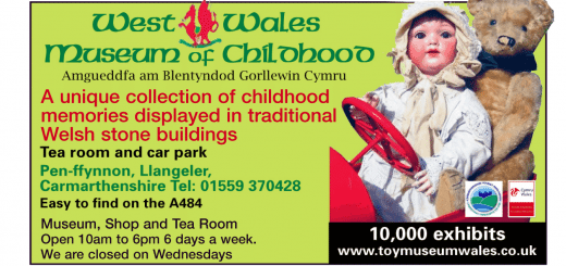 West Wales Museum of Childhood Advert