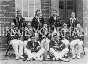 Shaftesbury Grammar Cricket Team 1935