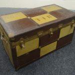 Dr Rees' vintage cabin trunk.