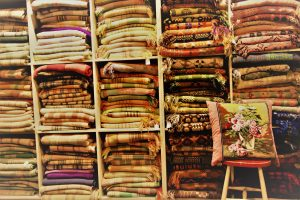 Many Welsh blankets