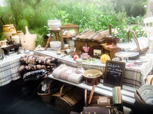 A display of Welsh Country Antiques