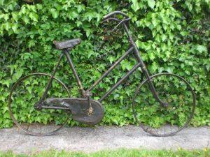 Child's Bike at Trecastle Antiques Centre