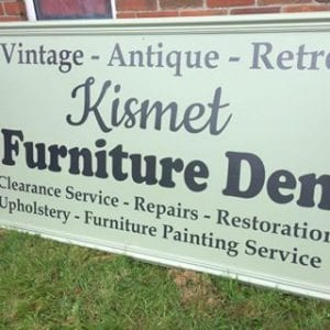 Kismet Vintage Fforest-fach Advertisment