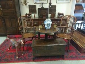 Stockmoor Antiques Interior