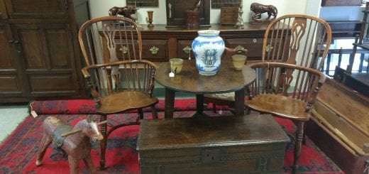 Stockmoor Antiques Interior