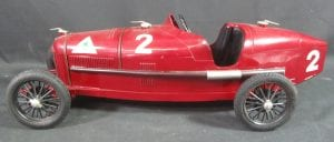 Clockwork tinplate model Alfa
