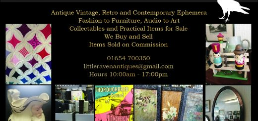 Little Raven Antiques Advert