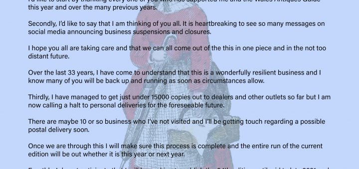 Announcing cessation of personal deliveries
